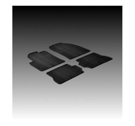 Автомобилни гумени стелки за Ford Focus леген [G4007]