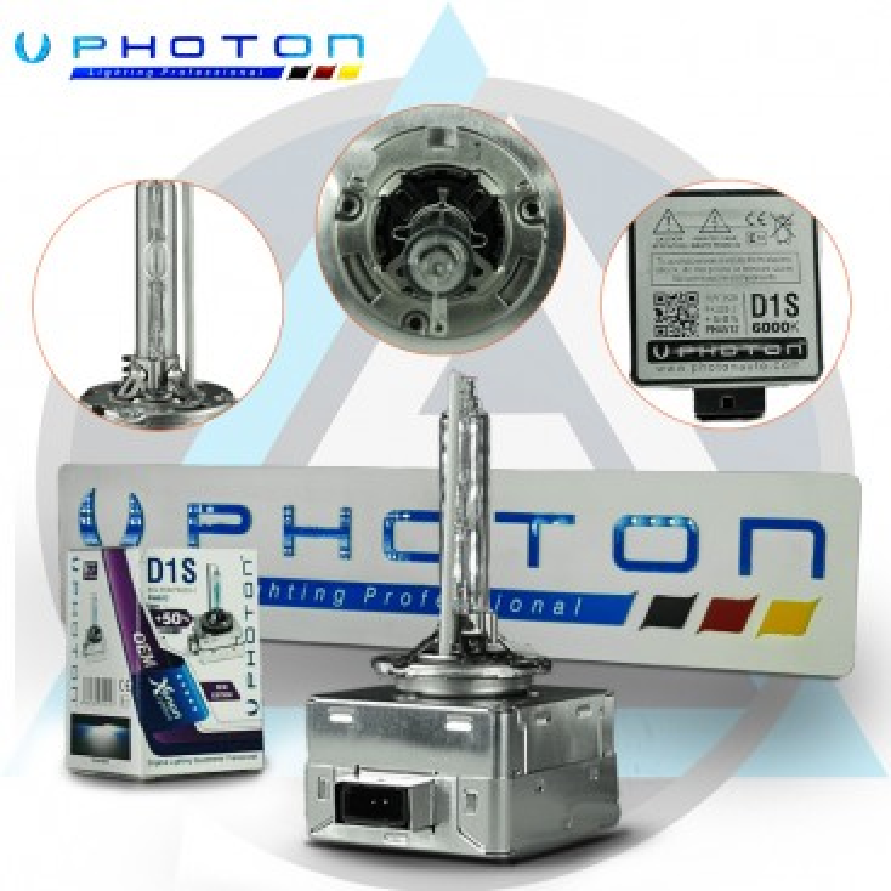 Ксенонова крушка Photon D1S 35W 6000K +50% Повече светлина