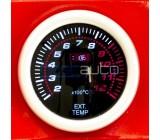 Измервателни уреди за температурата на изгорелите газове