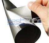 3D Тъмно сиво Карбоново Фолио